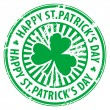 Royalty-Free Stock Vector Image: St. Patrick's Day stamp