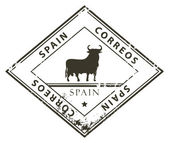 Spain stamp — Stock Vector