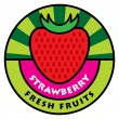 Fruit label — Stock Vector #12863778