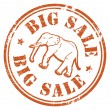 Royalty-Free Stock Vector Image: Big Sale stamp