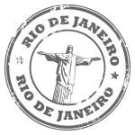 Rio de Janeiro stamp — Stock Vector #12864654