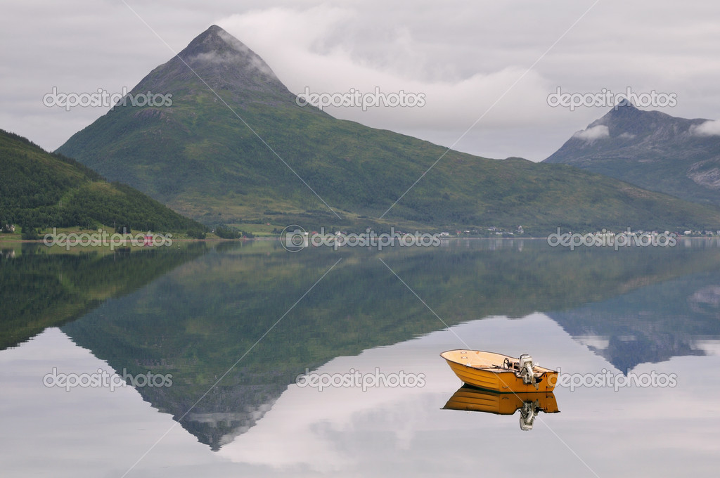 Beautiful landscape of Norway  Stock Photo #13043468