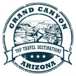 Grand Canyon stamp - Stock Vector