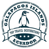 Galapagosl stamp — Stock Vector
