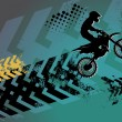 Motocross background — Stock Vector #13226773
