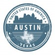 Royalty-Free Stock Vector Image: Texas, Austin