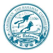 Bahamas, Caribbean stamp — Stock Vector