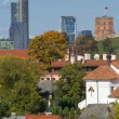 Bird's eye view of Vilnius — Stock Photo