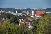 Bird's eye view of Vilnius — Foto de Stock