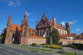 Church in Vilnius, Lithuania — Stock Photo