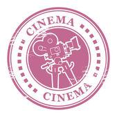 Sello de cine — Vector de stock