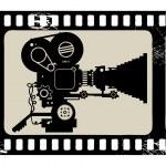 Постер, плакат: Retro film camera
