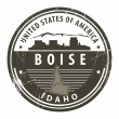 Idaho, Boise stamp — Stock Vector #13491207