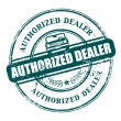 Authorized dealer stamp — Stock Vector #13545827