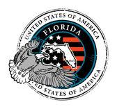Florida stamp — Stock Vector