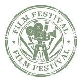 Film Festival stamp — Stock Vector