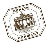 Berlín, sello de alemania — Vector de stock