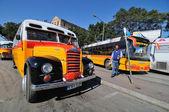 общественные автобусы мальты — Стоковое фото