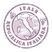 意大利邮票 — 图库矢量图片