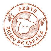Spain stamp — Stock Vector