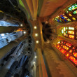 Stock Photo: SagradFamilicathedral in Barcelona