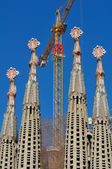 Sagrada Familia cathedral in Barcelona — Stockfoto