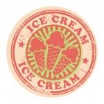 Ice cream label — Stock Vector #14573823