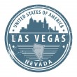 Nevada, Las Vegas stamp — Stock Vector #14574099