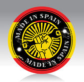 Made in Spain label — Stock Vector