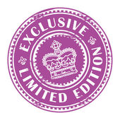 Exclusive - limited edition stamp — Stock Vector