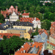 Vilnius old town panorama — Stock Photo