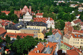 Vilnius old town panorama — Stock Photo