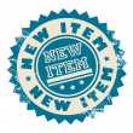 ������, ������: New item stamp