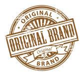 Original brand stamp — Stock Vector