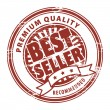 Best seller stamp — Stock Vector