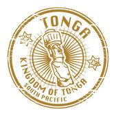 Tonga stamp — Stock Vector