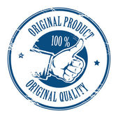 Original product stamp — Stock Vector