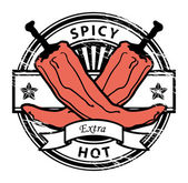 Pepper stamp — Stock Vector