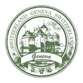 Geneva, Switzerland stamp — Stock Vector
