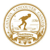Vancouver, Canada stamp — Stock Vector