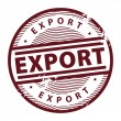 Export stamp — Vector de stock #16247819
