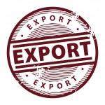 Постер, плакат: Export stamp