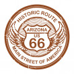 Historic Route 66, Arizona — Stock Vector #16248615