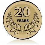 20 anniversary — Stock Vector #16248635