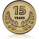 15 anniversary — Stock Vector #16248641