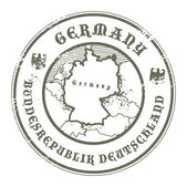 Germany stamp — Stock Vector