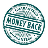 Money Back stamp — Vector de stock