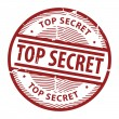Stamp Top Secret - Stock Vector
