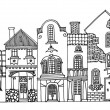 Hand drawing houses — Stock Vector #16910485