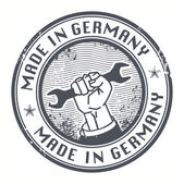 Made in Germany stamp — Stock Vector